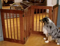 wooden pet gates