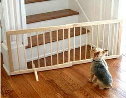 wood dog gates