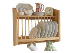 wooden plate racks  sc 1 st  Dalian Grandwills & Kitchen Racks Wooden Dish Racks Wood Plate Racks kitchen ...
