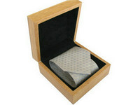 wooden necktie boxes
